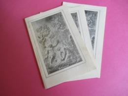 Image Religieuse/Priére/Feuille D'un Vieil Olivier Du Jardin De GETHSEMANI/St Sépulcre/Péres De Terre Sainte/1912  IMP41 - Religion & Esotérisme