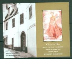 Gibraltar: 1997   Christian Dior Spring / Summer Collection   M/S  MNH - Gibilterra