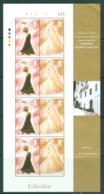Gibraltar: 1997   Christian Dior Spring / Summer Collection   MNH Sheetlets - Gibilterra
