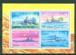 Gibraltar: 1997   WW II Warships (Series 5)   M/S  MNH - Gibilterra