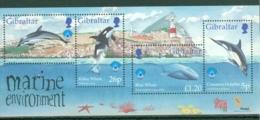 Gibraltar: 1998   International Year Of The Ocean   M/S  MNH - Gibilterra