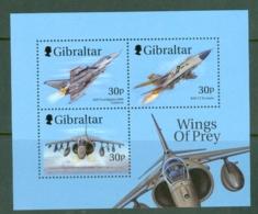 Gibraltar: 1999   Wings Of Prey (Series 1)  M/S (x2) MNH - Gibilterra