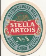 Sous-bock Stella Artois N.A Bi-face TBE - Sous-bocks