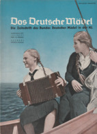 Das Deutsche Mädel, Juli 1937, BDM-Magazine For Hitler-Jugend,HJ, Jungmädel,JM,Hitler Youth,Jungvolk - Kids & Teenagers