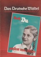 Das Deutsche Mädel, April 1937, BDM-Magazine For Hitler-Jugend,HJ, Jungmädel,JM,Hitler Youth,Jungvolk - Kids & Teenagers