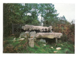 Carnac (56) Le Dolmen De Roc Feutet ( Roche Fendue ) Situee Sur La Route De La Trinite A Auray - Carnac
