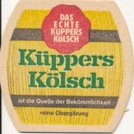 Sous-bock Küppers Kölsch Bi-face TBE - Sous-bocks