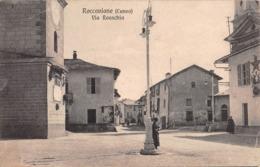 """09591 """"(CN) ROCCAVIONE - VIA ROASCHIA""""  ANIMATA. CART NON SPED - Cuneo"""