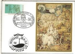ALEMANIA STUTTGART 1981  UNO NACIONES UNIDAS UNO DAG HAMMARSKJÖLD PREMIO NOBEL PAZ - Premio Nobel