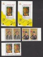 Indonesia 1997 People, Musician, 2x Set Of 3v + 2x S/S, MNH** - Indonesien
