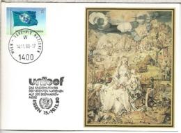 NACIONES UNIDAS UNITED NATIONS WIENMAT ESSEN UNICEF 1980 - UNICEF