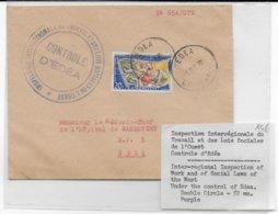 CAMEROUN - 1960 - ENVELOPPE De L'INSPECTION Du TRAVAIL De EDEA - Cameroun (1960-...)