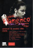 REF 399 : CPM Publicitaire Carte à Pub Levallois Perret Flamenco - Publicité