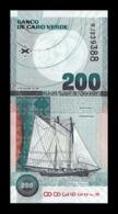 Cabo Cape Verde 200 Escudos 2005 Pick 68 SC UNC - Cabo Verde