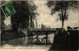 CPA CHAMAGNIEU - Le Pont Du Chaffard Sur La Bourbre (489319) - France