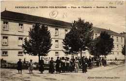 CPA Panissage - Pres Virieu-sur-Bourbre - Place De L'Industrie (489581) - Virieu