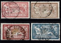 France Merson 1900 - YT N°119, 120, 121 Et 123 - Oblitérés - 1900-27 Merson