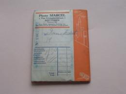 Photo MARCEL > WETTEREN Van Cromphautstraat 1 >>> OMSLAG + Negatieven ( Zie Foto's ) ! - Otros