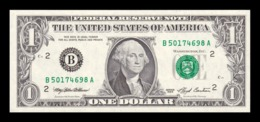 Estados Unidos United States 1 Dollar 1993 Pick 490a Letra B - New York NY SC UNC - Billetes De La Reserva Federal (1928-...)