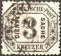1870 Dienstmarke Michel 8 Geprüft - Norddeutscher Postbezirk