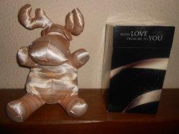 """ELAN  """"with Love From Me To You """" 32 Cm Dans Sa Boite Rétractable (offert  Par Une Parfumerie A L'époque De NOEL) - Other Collections"""