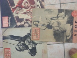 Lot De 3 Debout Noel 1945 Robin Hood  Stop Femme  Guerre - Revues & Journaux