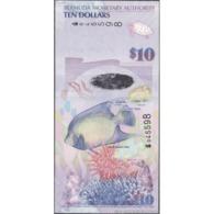 TWN - BERMUDA 59a - 10 Dollars 1.1.2009 Hybrid - Bermuda Onion Prefix - Signatures: Cossar & Millighan-White UNC - Bermude