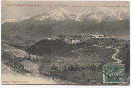 Mont-Louis  La Citadelle - Au Fond La Chaine Des Pyrénées - Ed Labouche - Andere Gemeenten