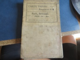 Carte Guide TARIDE , PARIS , ORLEANAIS - Mapas Geográficas