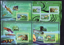 Guinea 2007 - Fishes MArine Life Perf. Stamps  - MNH** - AF2 - Fishes