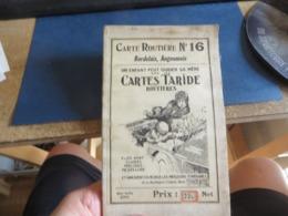 Carte Guide TARIDE ,bordelais,angoumois - Mapas Geográficas