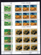 Guinea 2007 - Fishes MArine Life Perf. Stamps  - MNH** - AF2 - Art