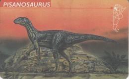 ARGENTINA(chip) - Pisanosaurus, Telefonica Telecard(F 54), 05/97, Used - Argentinië