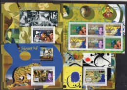 Guinea - 2007 - Picasso Dali Miro Art Perf. Stamps - MNH** - AF2 - Picasso