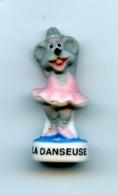 FEVE - FEVES -  SOURIS - LA DANSEUSE - MATE - Animali