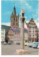REF 399 : CPSM Allemagne Germany Trier Haupmark Mit Marktkreuz - Germany