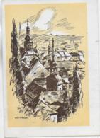 AK 0322  Graz - Stiegenkirche Und Dom - Künstlerkarte Von Pirrer Um 1940-50 - Graz