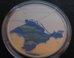 100 Years Of The First Kurultay Of The Crimean Tatar People Ukraine 2017 Coin , 5 UAH - Ukraine