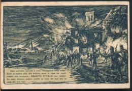 °°° 14320 - ILL. MAZZONI - SOLDATO D'ITALIA NON CEDERE - 1918 TIMBRO POSTA MILITARE °°° - Autres Illustrateurs