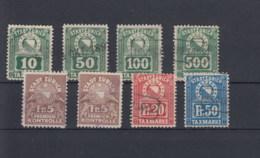 Schweiz Michel Cat.No.  Lot Tax Stamps Zürich - Fiscaux
