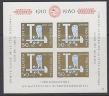 Switzerland 1960 Pro Patria M/s ** Mnh (44714) - Pro Patria