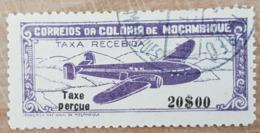 Portugal - Mozambique: Timbre N° PA 23 Poste Aérienne (YT), Oblitéré Avec Trace De Charnière - Mozambique