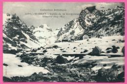St - Saint Grat - Vallée De La Gordolasque - Vésubie - Edit GILETTA Frères - 1907 - Oblit. HOTEL - France