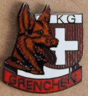 CHIEN - DOG - HUND - BERGER ALLEMAND - KG - SWISS -SUISSE - SCHWEIZ - GRENCHEN - GRANGES  -      (22) - Animales