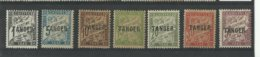 Maroc 1918 Taxe N° 35/ 41 Neufs * Cote YT 55€ - Postage Due