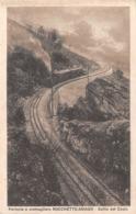"""09610 """"VICENZA - FERROVIA A CREMAGLIERA - ROCCHETTE-ASIAGO - SALITA DEL COSTO - CHIUSA 1958""""  TRENO. CART  SPED 1922 - Vicenza"""