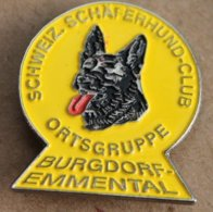 CHIEN - HUND - DOG - SCHWEIZ SCHAFERHUND CLUB - ORTSGRUPPE - BURGDORF EMMENTAL - SUISSE - SWISS-BERGER ALLEMAND - (22) - Animales