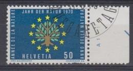 Switzerland 1970 European Nature 1v Used 1st Day (44715) - Europese Gedachte
