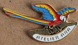 PERROQUET ARA - ATELIER ARA - SWISS MADE  - (22) - Animals