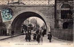 HTS DE SEINE-Courbevoie-Le Pont Du Chemin De Fer - ND Phot 103 - Courbevoie